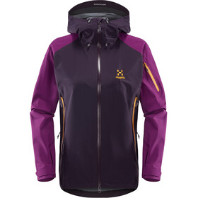 Haglöfs Roc Spirit Jacket Women Acai Berry/Lilac